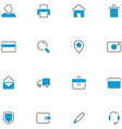 icons set material design vector image vector image