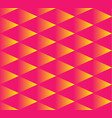 seamless pattern gradient triangle yellow triangle vector image