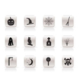 simple halloween icon pack vector image vector image