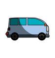 van transport vehicle vector image vector image
