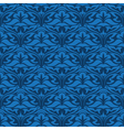 blue seamless wallpaper pattern vector image vector image