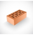 Brick Realistic Template vector image vector image
