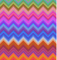 Colorful zigzag stripe pattern background design vector image