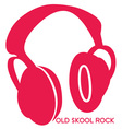 Old Skool Headphones vector image vector image