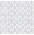 Pattern leafs gray vector image