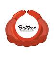 seal butcher vector image vector image