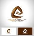 Spiral Design Creative vector image