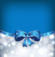 Christmas glowing background holiday design vector image vector image