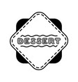 hand drawn menu for cafe sketch concept vector image