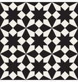 Seamless Black and White Geometric Square vector image vector image