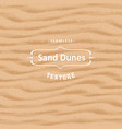 seamless sand texture background with natural vector image