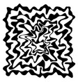 abstract background in black and whiteflowing vector image vector image