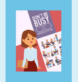 business people successful woman vector image
