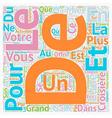 Croisiere Pour Lune de Miel text background vector image vector image