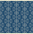 geometrical seamless pattern in linear design vector image vector image