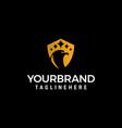 head bird luxury logo design concept template vector image vector image