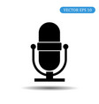 microphone icon eps 10 vector image