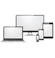 Modern Electronic Devices Set vector image vector image