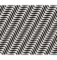 Seamless Black and White Geometric Diagonal vector image
