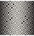 Seamless Rounded Line Maze Irregular vector image vector image