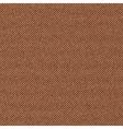 Seamless texture of brown denim diagonal hem vector image
