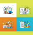 education learning tools strategic planning vector image vector image