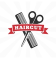 Haircut icon vector image vector image