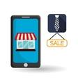 Social Advertising design Media icon White vector image vector image
