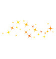 star background template vector image