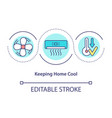 air conditioning concept icon
