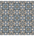 Blue and brown pattern vector image