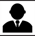 business logo icon vector image vector image