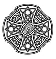 celtic national ornaments vector image