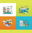 forms of education success in teaching learning vector image vector image