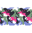 seamless camouflage pattern background fashion vector image vector image