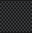 seamless realistic chain link fence background on vector image vector image