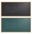 Set drawing board chalk vector image