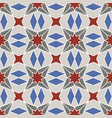 abstract geometric ornament with four-beam vector image vector image