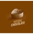 logo chocolate vector image
