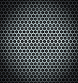 Metal cell background Design template vector image vector image