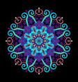 new round mandala-08 vector image vector image