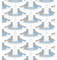 snow birds vector image vector image