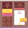 Stationery template design for cafe shop