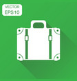suitcase icon business concept case pictogram on vector image vector image