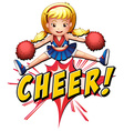 Cheer flash logo