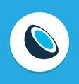 cocoanut icon colored symbol premium quality vector image vector image