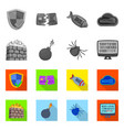 design of virus and secure symbol set of vector image