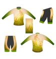Long sleeve t-shirt vector image vector image