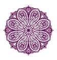 Mandala Ethnic decorative floral ornament vector image vector image
