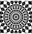 monochrome classic mandala for your design vector image